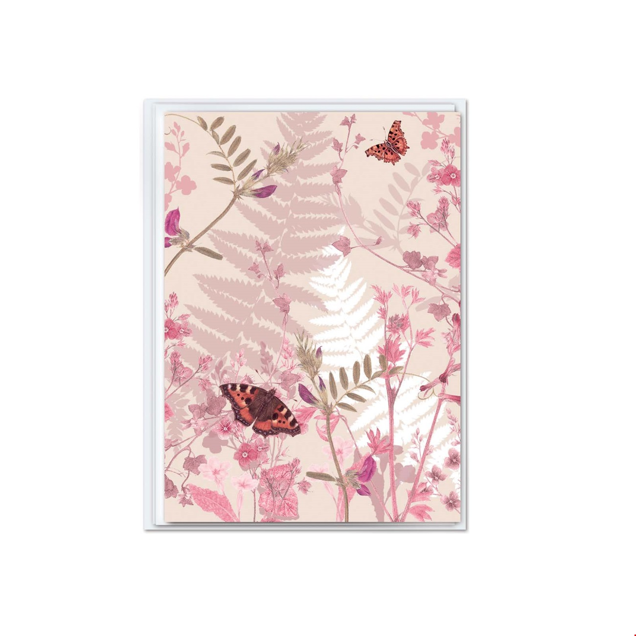 Mini Notecard - Pink Floral and Patterns