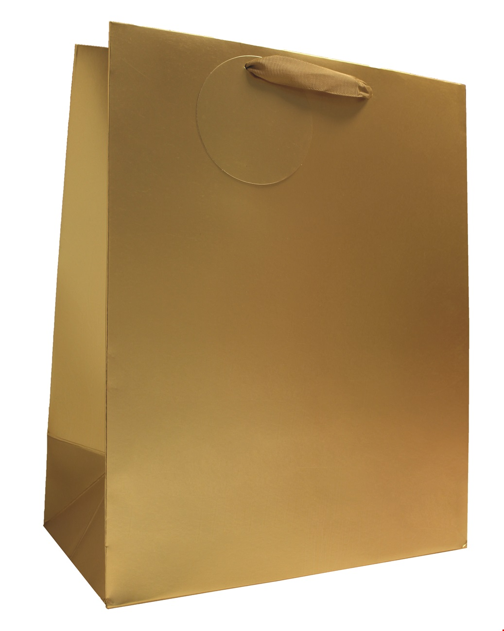 Gold Matt Metallic Large Bag
