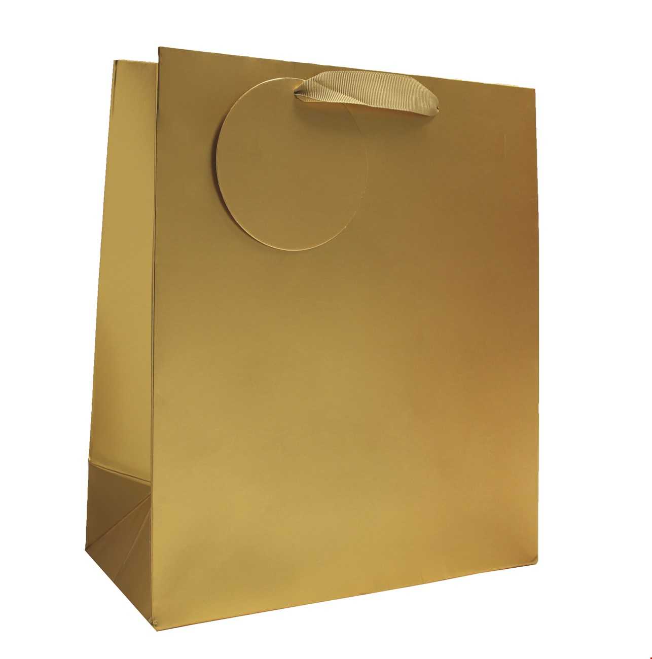 Gold Matt Metallic Medium Bag