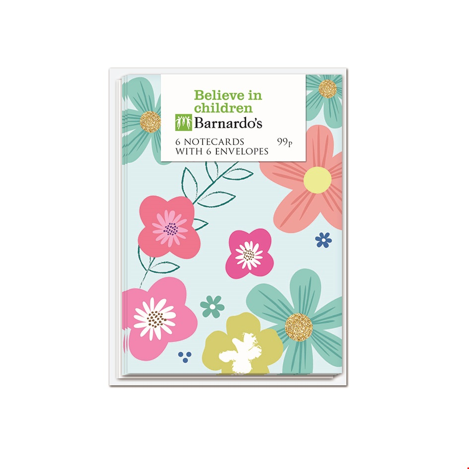 Floral Notecard Pack
