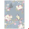 Floral Bird  Charity Notecards - Pack of 12