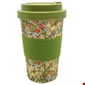 William Morris Golden Lily Bamboo Travel Mug