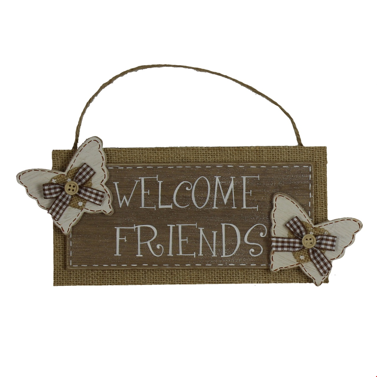 "Juliana Home Living Wall Plaque ""Welcome Friends"""