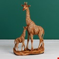 Naturecraft Giraffe Wood Effect Garden Figure