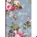 Blue Floral A5 Charity Notebook