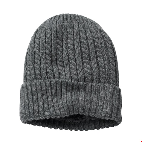 e5b5d8e3a3b76 Home   Mens Cable Knit Fleece lined Hat. Cable Knit Hat Grey.jpg