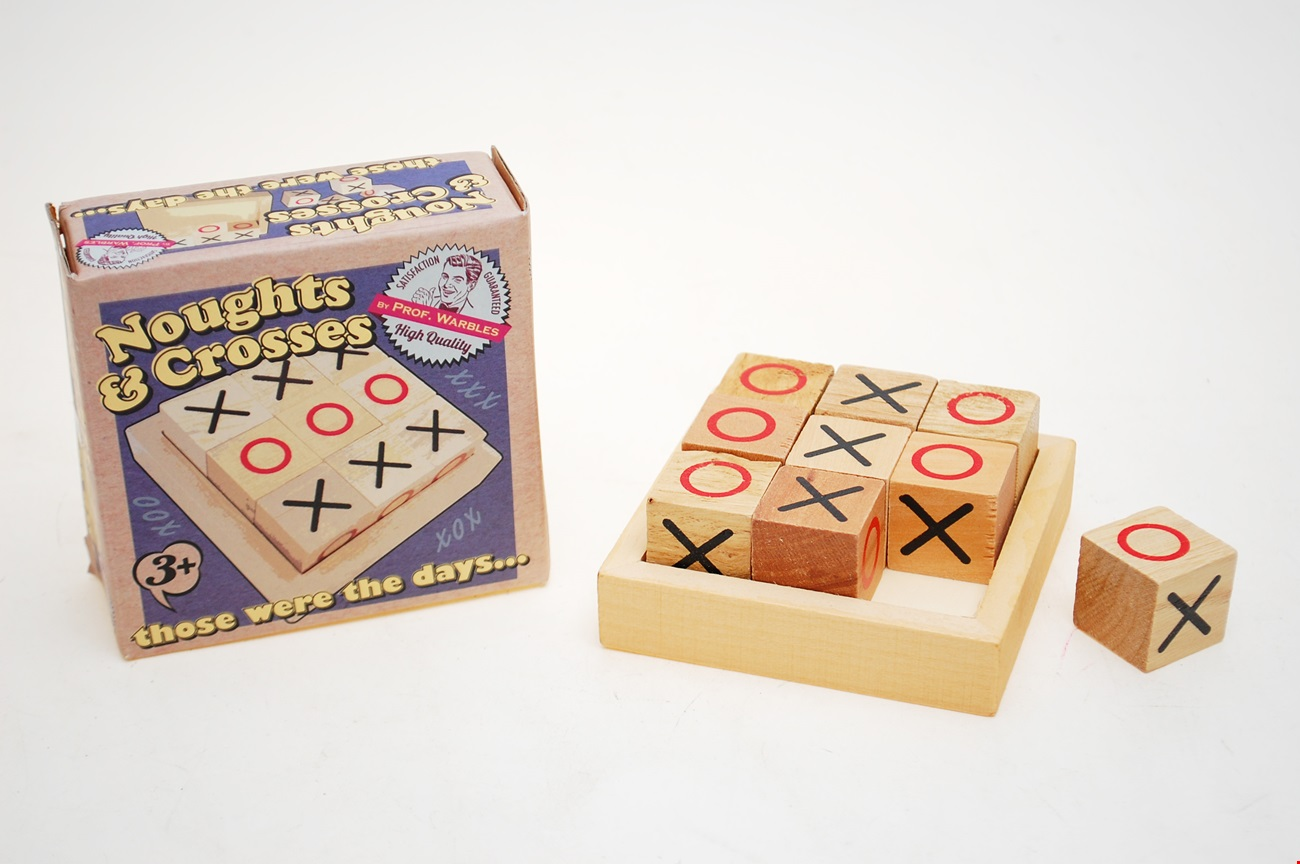Retro Noughts & Crosses