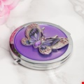Butterfly Compact with Diamantes