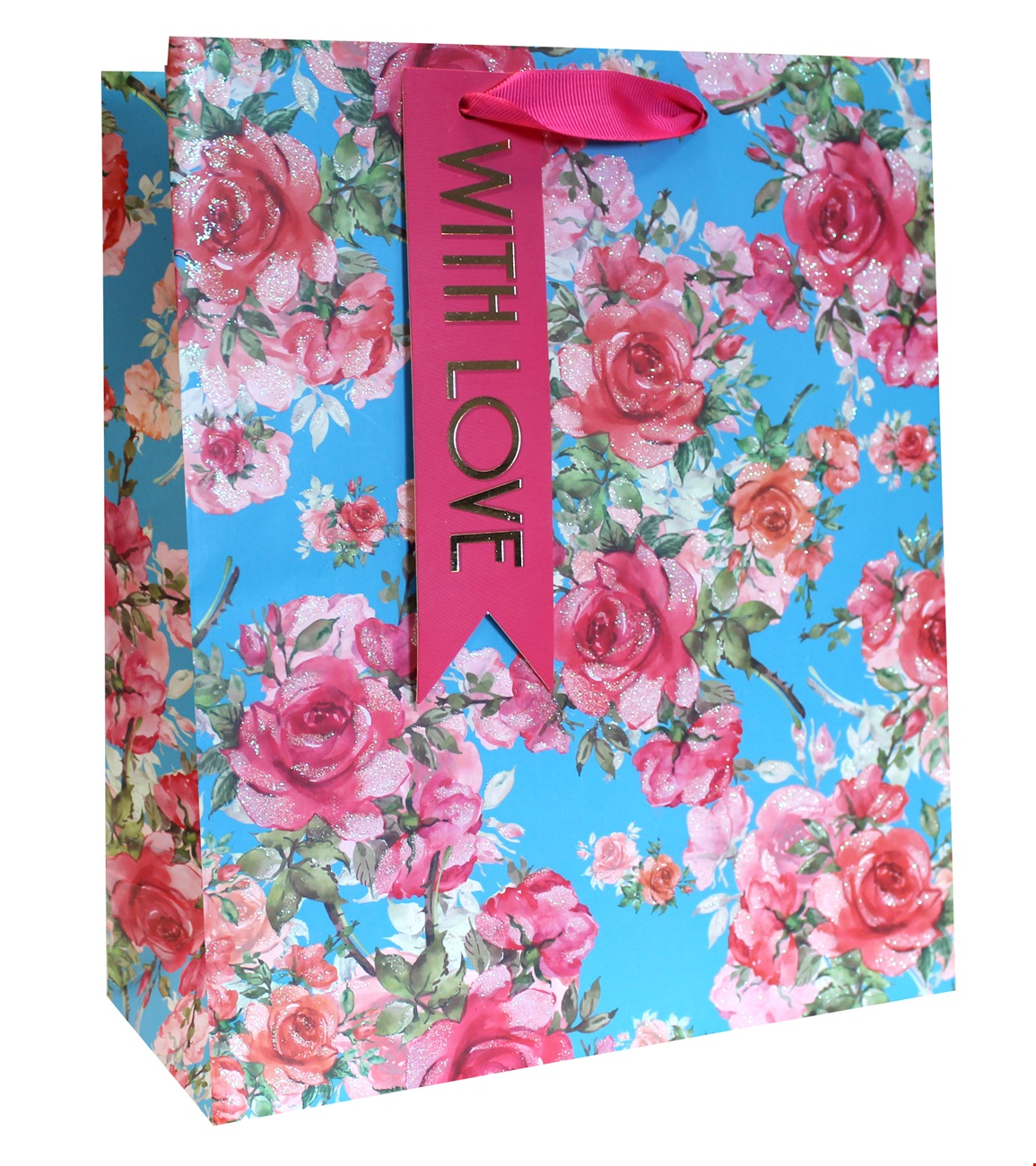 Large Traditional Rose Gift Bag