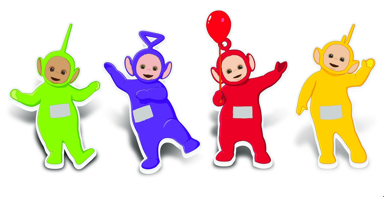 Teletubbies Pin Badges